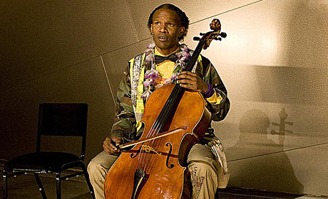 Jamie Foxx in The Soloist