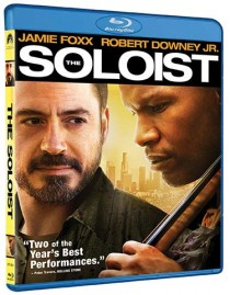 The Soloist Blu-ray packaging