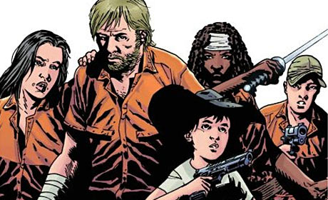 Cover detail from The Walking Dead Compendium
