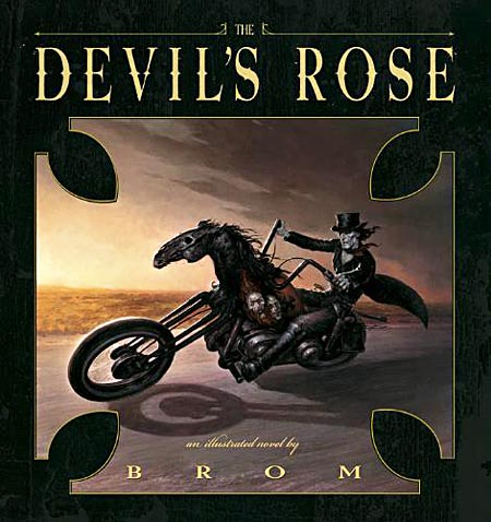 Devil's Rose by Brom cover