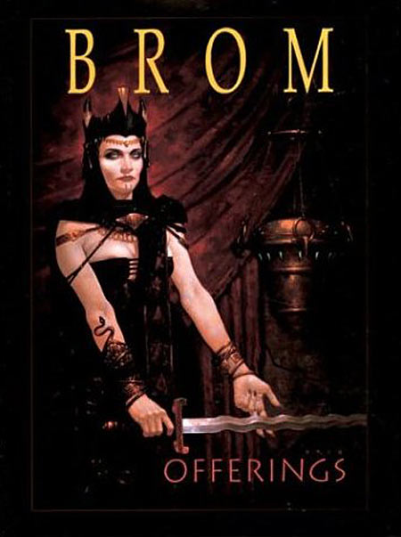 Offerings by Brom cover