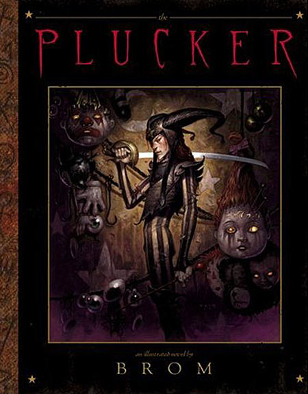 The Plucker by Brom cover