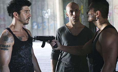 David Belle and Cyril Raffaelli in the Luc Besson-produced District 13: Ultimatum