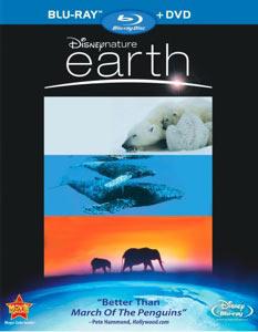 Earth Blu-ray packaging