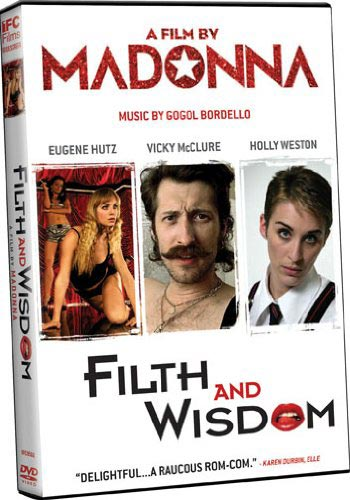 Filth and Wisdom DVD packaging