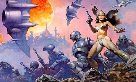 A Princess of Mars illustrated by Frank Frazetta