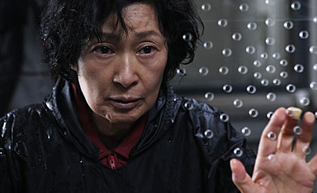 Kim Hye-ja in a scene from Mother