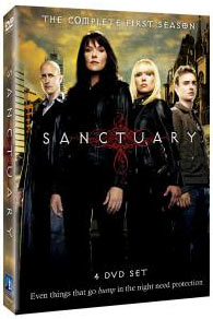 Sanctuary The Complete First Season DVD packaging