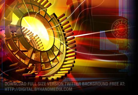 Free Twitter Background Design - Click image to download full size version