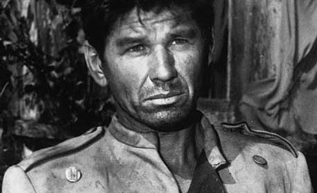 Charles Bronson played The Man in a 1961 episode of The Twilight Zone