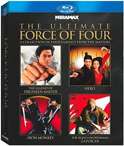 Ultimate Force of Four Blu-ray box set packaging
