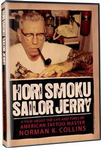 Hori Smoku Sailor Jerry DVD packaging