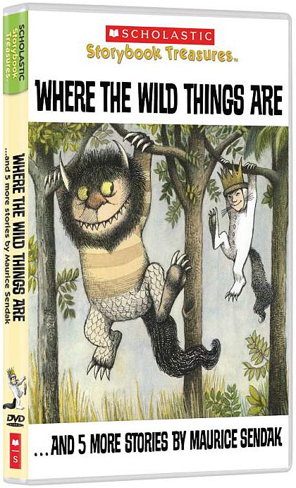Where the Wild Things Are DVD packaging