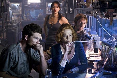 Sam Worthington - Michelle Rodriguez - Sigourney Weaver and Joel Moore in Avatar