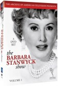 Win one of three copies of the 3-disc DVD set The Barbara Stanwyck Show: Volume 1