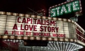 Countrywide free screenings of Michael Moore's documentary Capitalism: A Love Story tonight