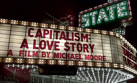 Theater screening Capitalism: A Love Story