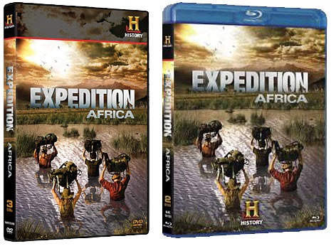 Expedition Africa DVD and Blu-ray packaging