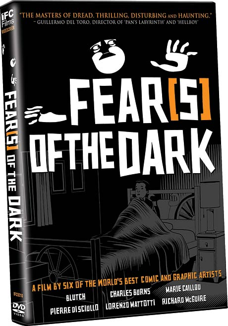 Fear-s of the Dark DVD packaging