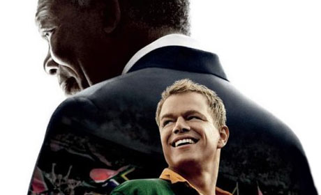 Morgan Freeman and Matt Damon in Invictus