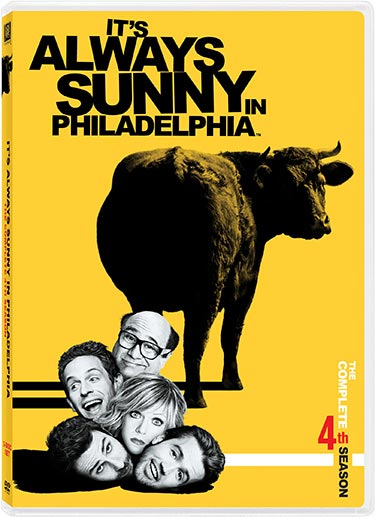 Its Always Sunny In Philadelphia DVD packaging
