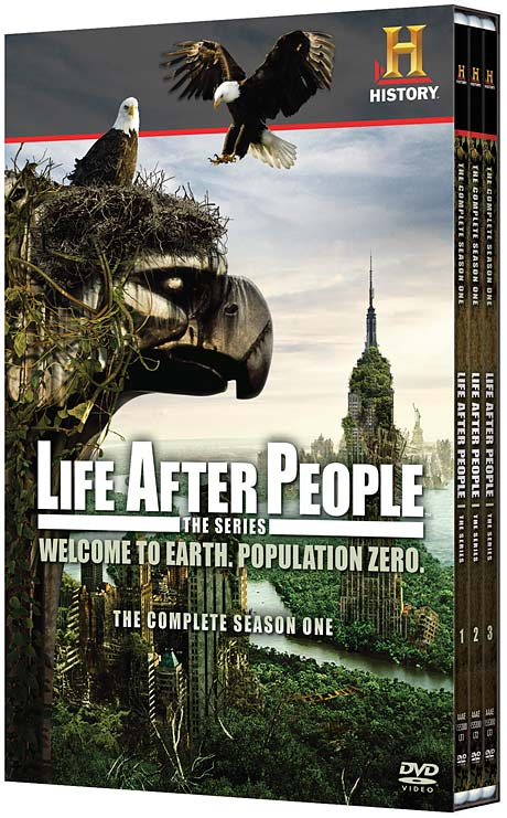 Life After People: The Complete Season One DVD packaging