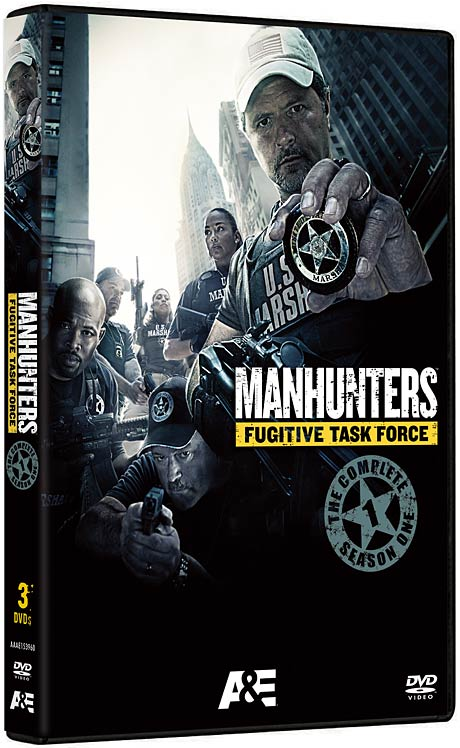 Manhunters: Fugitive Task Force - The Complete Season One DVD packaging