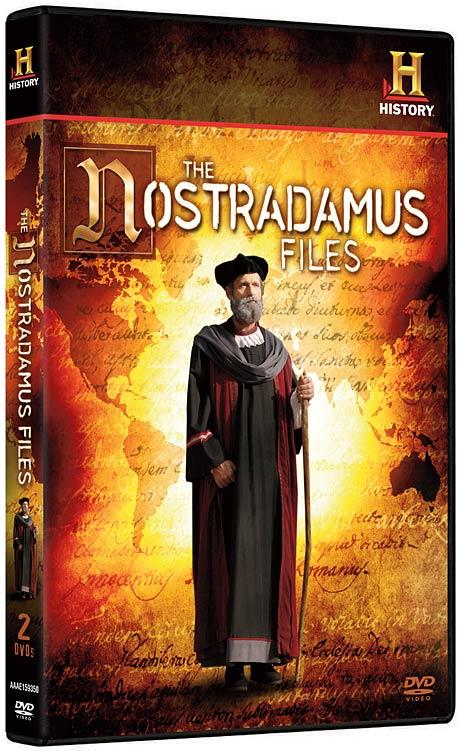 The Nostradamus Files 2-disc DVD set packaging