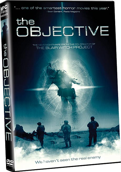 The Objective DVD packaging