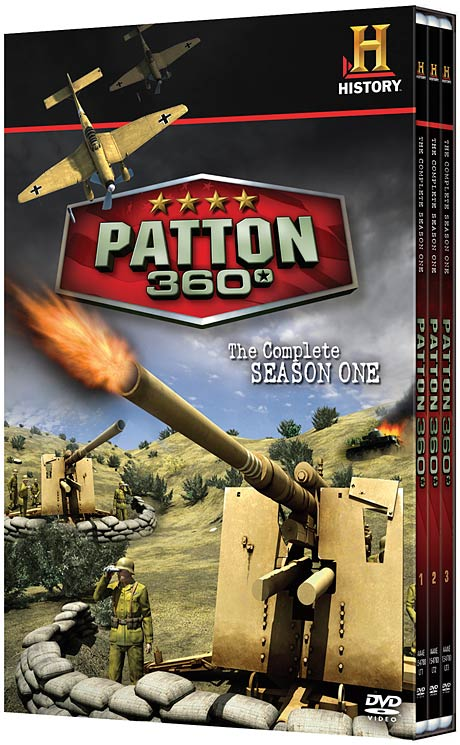 Patton 360: The Complete Season One DVD packaging