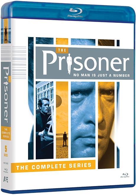 The Prisoner Blu-ray disc set packaging