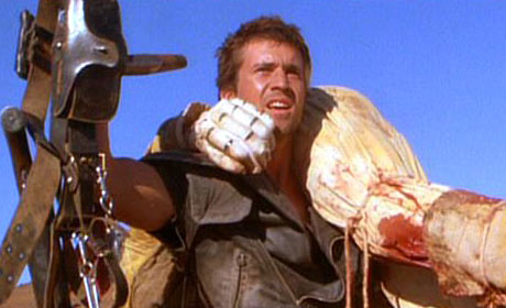 Mel Gibson in Mad Max 2 a.k.a. The Road Warrior
