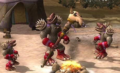 Screenshot from the Spore game