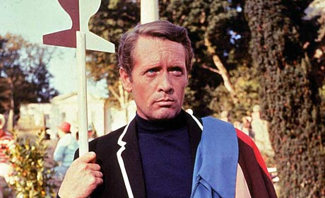 Patrick McGoohan as Number Two in The Prisoner