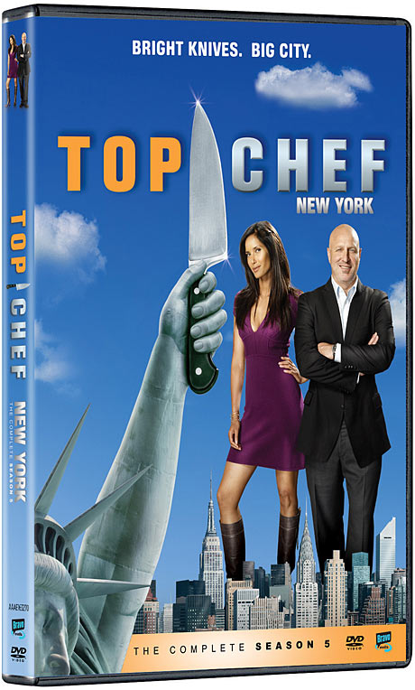 Top Chef: New York - The Complete Season Five DVD packaging