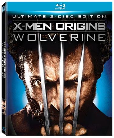 X-Men Origins: Wolverine Blu-ray packaging