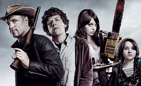 Woody Harrelson - Jesse Eisenberg - Emma Stone and Abigail Breslin are all about killing zombies