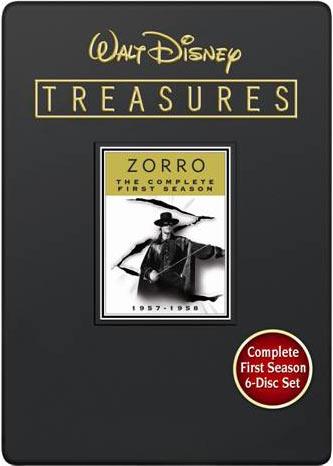 Walt Disney Treasures Wave IX Zorro the Complete Second Season