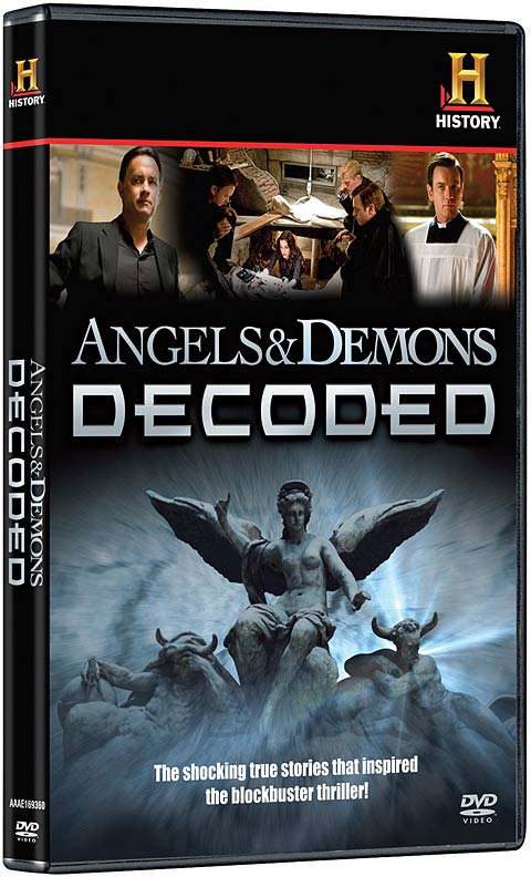 Angels and Demons Decoded DVD packaging