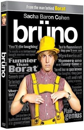 Bruno DVD packaging