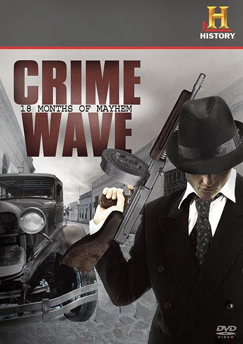 Crime Wave: 18 Months of Mayhem DVD packaging