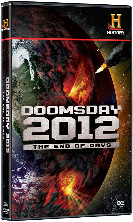 Doomsday 2012: The End of Days DVD packaging