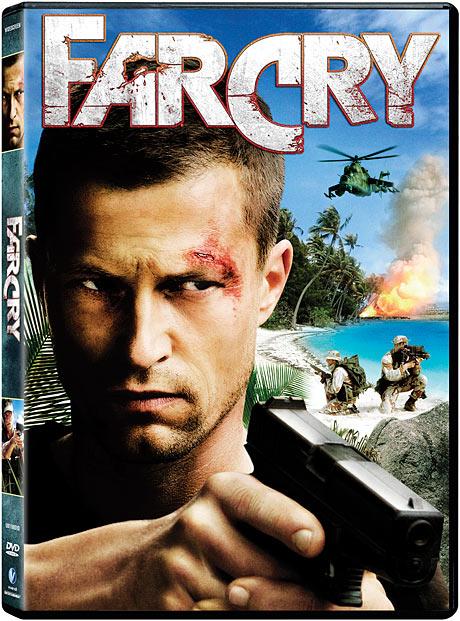 Far Cry DVD packaging