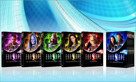 Win one of two copies of Farscape: The Complete Series Megaset 26 DVD Disc Set