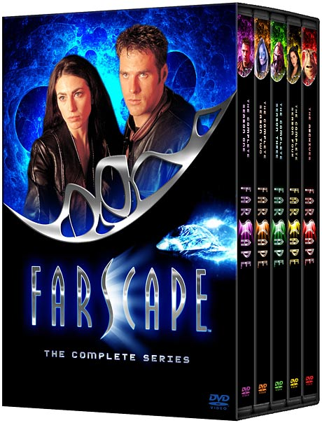 Farscape The Complete Series Megaset DVD packaging