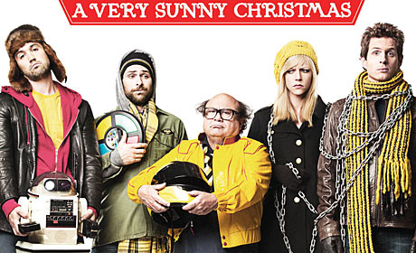 The cast of Its Always Sunny In Philadelphia A Very Sunny Christmas