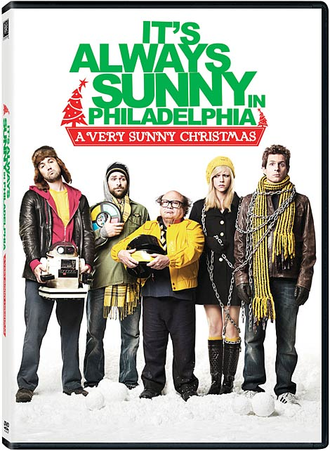 Its Always Sunny In Philadelphia A Very Sunny Christmas DVD packaging