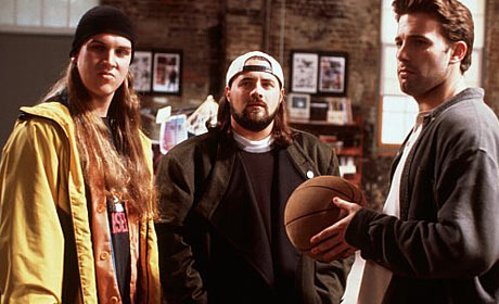 Jason Mewes - Kevin Smith and Ben Affleck in Jay and Silent Bob Strike Back