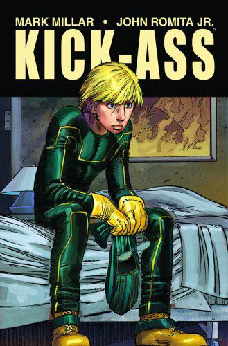Mark Millar (Civil War) and John Romita Jr. (World War Hulk) teamed for the original Kick-Ass