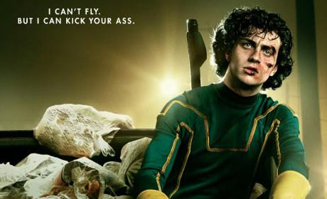 Detail of Kick-Ass movie poster